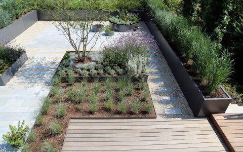 Parolex, Moderne Garten- und Terrassengestaltung im Materialmix